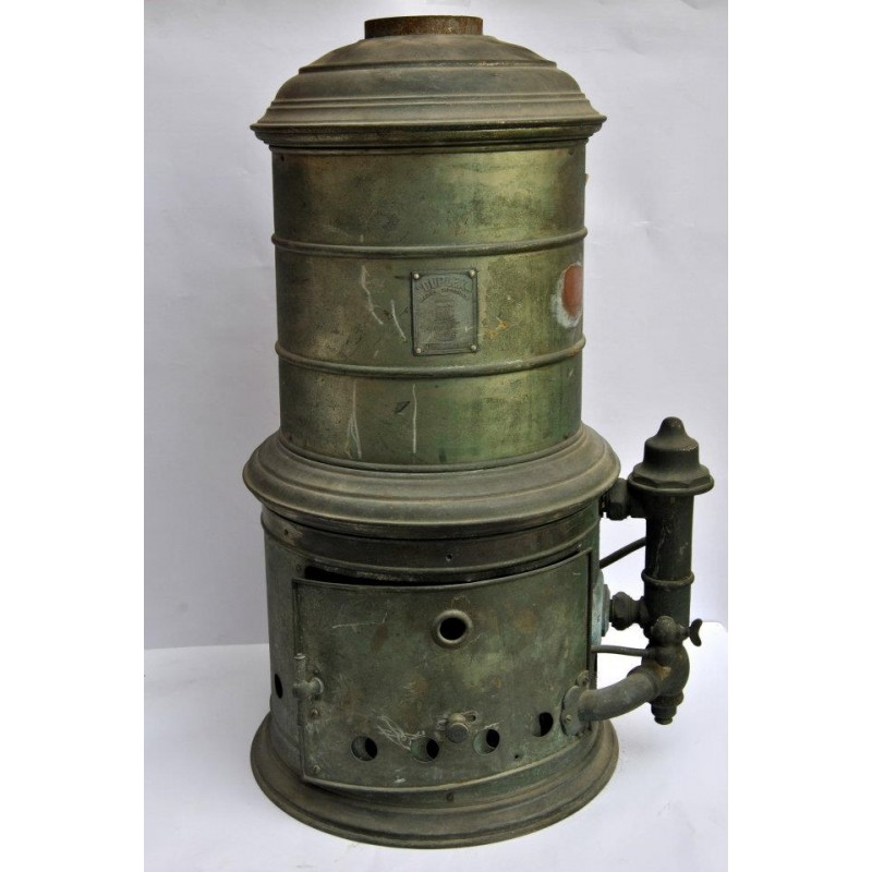 Scaldabagno a gas metano tutto in rame circa anni 39 30 ferramenta pesarin - Scaldabagno a gas metano ...