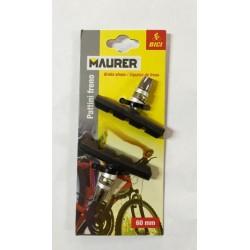 Pattini freno per bici da 60 mm