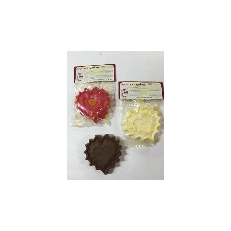 Stampini in silicone forma a cuore 13x12 cm h 2 5 cm for Attrezzi cucina in silicone