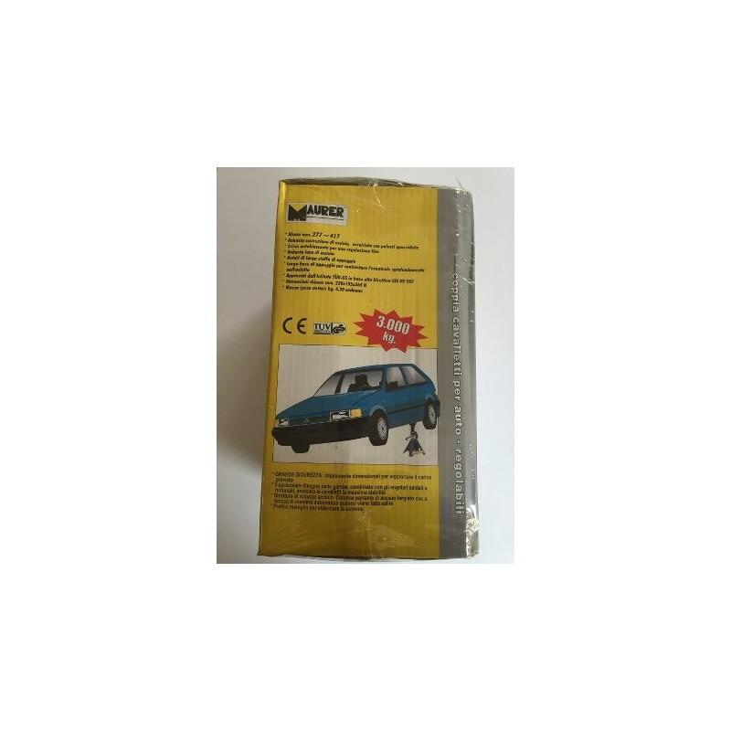 Coppia cavalletti per auto regolabili maurer ferramenta for Cavalletti auto