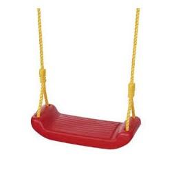 Seduta semplice per altalena. Completa di ganci e corda.Portata max 35 kg per bimbi da 3 a 12 anni